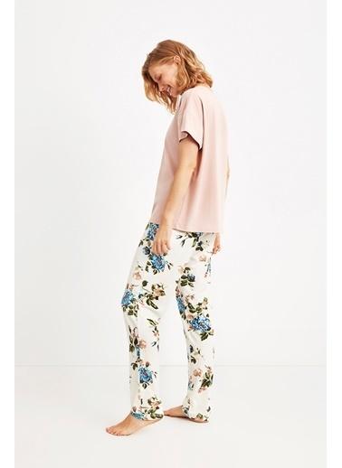 Catherines Pijama Takım Pudra